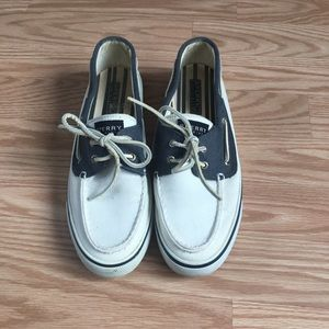 Sperry Canvas Top Sider Boat Shoes